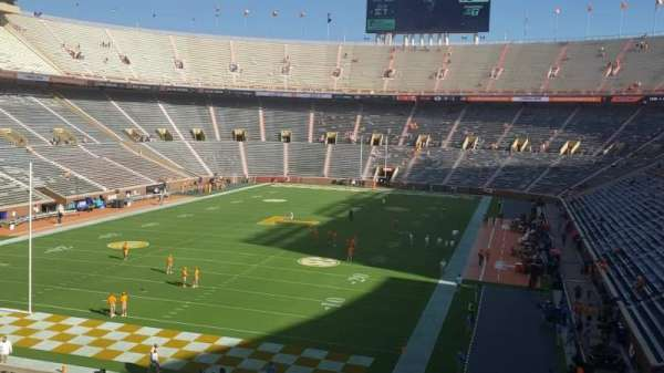 Neyland Stadium, section: Y6, row: 33, seat: 5