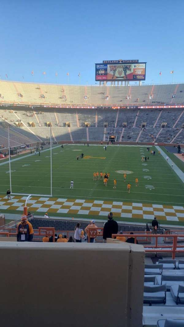 Neyland Stadium, section: Y7, row: 26, seat: 11