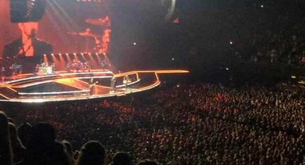 Ziggo Dome, section: 109, row: 14, seat: 321
