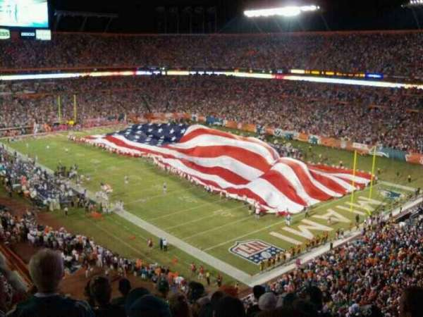 Hard Rock Stadium, section: 434, row: 10, seat: 8