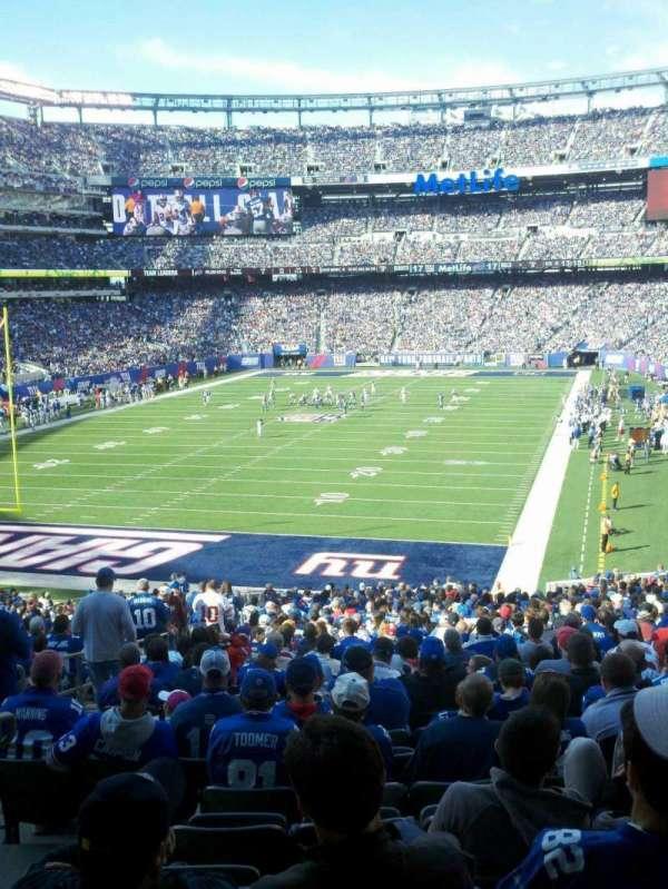 MetLife Stadium, section: 123, row: 41, seat: 28