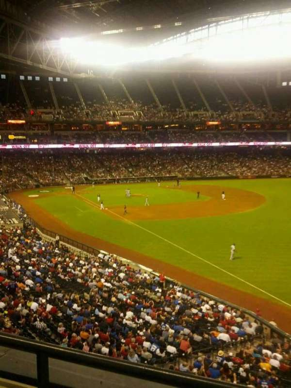 Chase Field, section: 201, row: 2, seat: 6