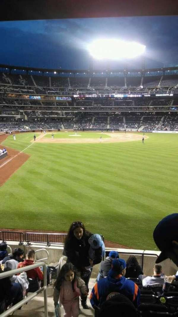 Citi Field, section: 102, row: 11, seat: 1