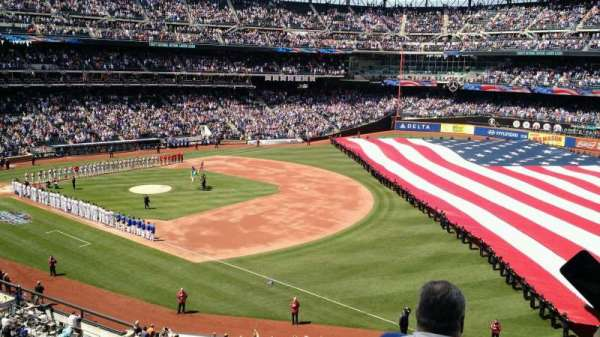 Citi Field, section: 307, row: 3, seat: 1
