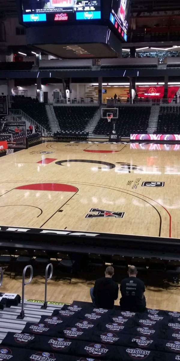 Fifth Third Arena, section: 121, row: 13, seat: 17