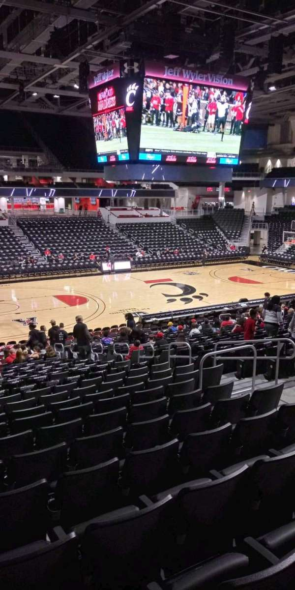 Fifth Third Arena, section: 118, row: 23, seat: 8