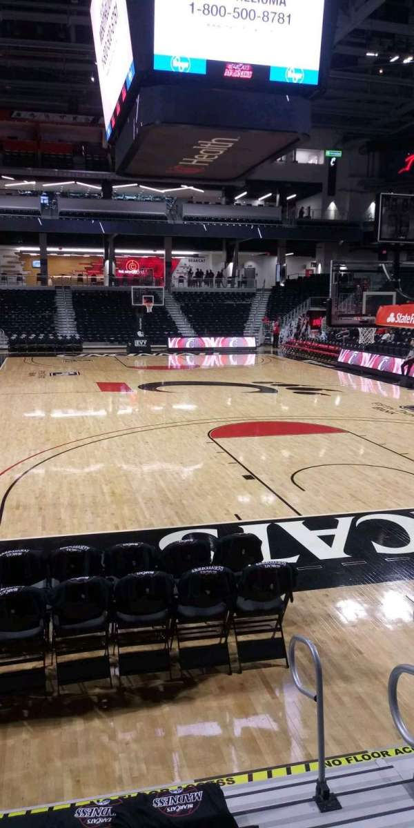 Fifth Third Arena, section: 123, row: 7, seat: 2