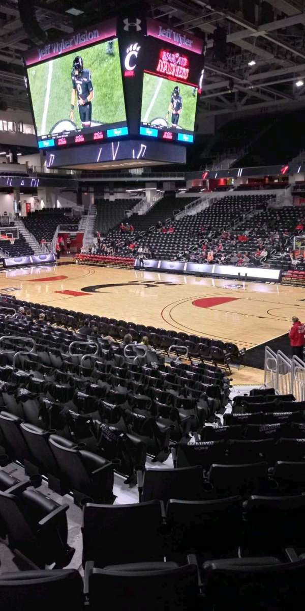 Fifth Third Arena, section: 101, row: 15, seat: 6