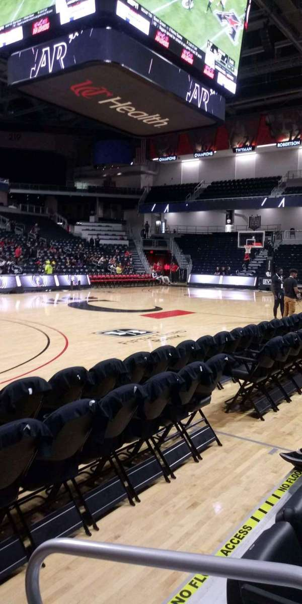 Fifth Third Arena, section: 106, row: 2, seat: 1