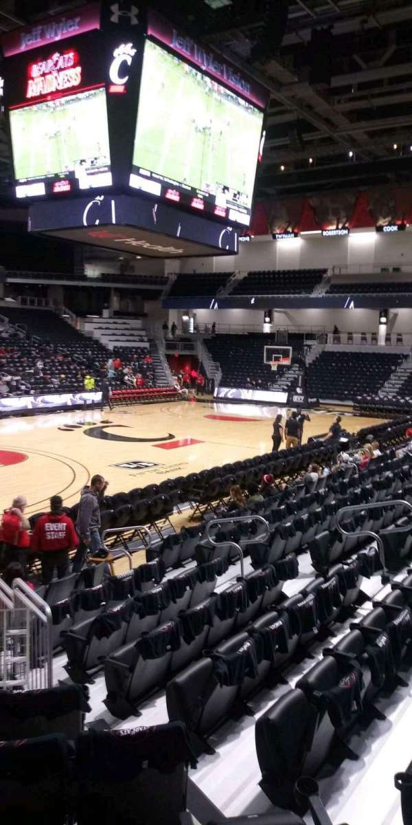 Fifth Third Arena, section: 107, row: 10, seat: 14