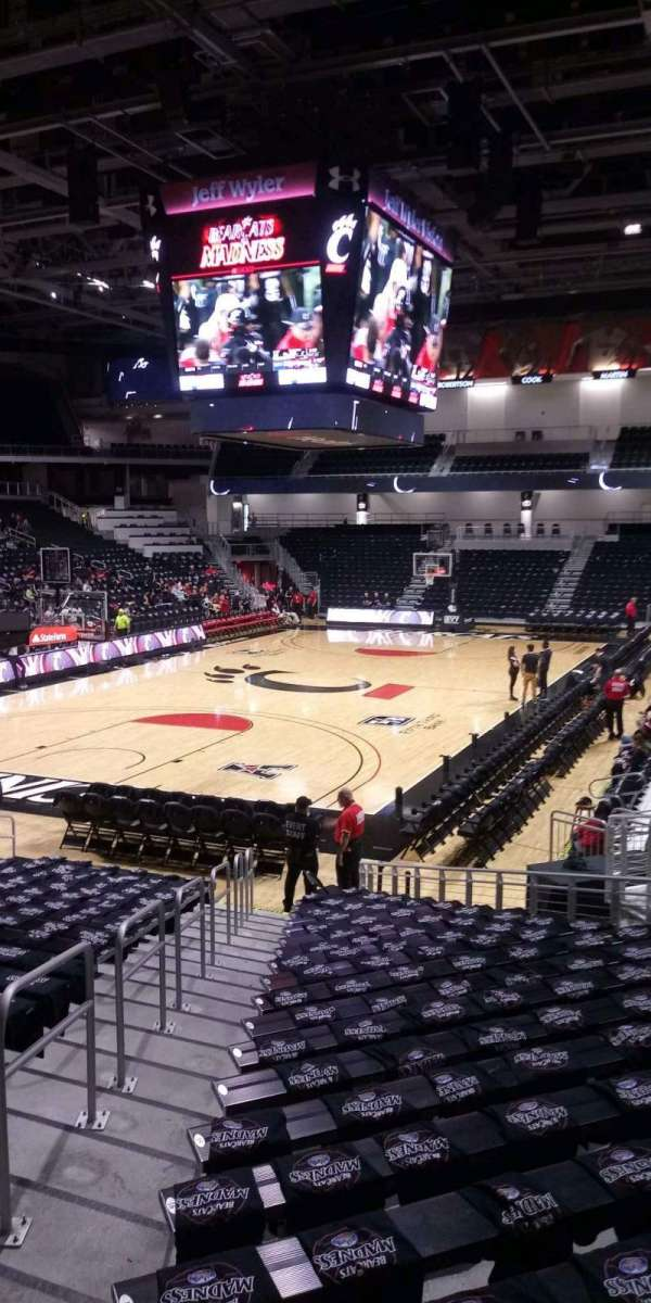 Fifth Third Arena, section: 108, row: 22, seat: 13