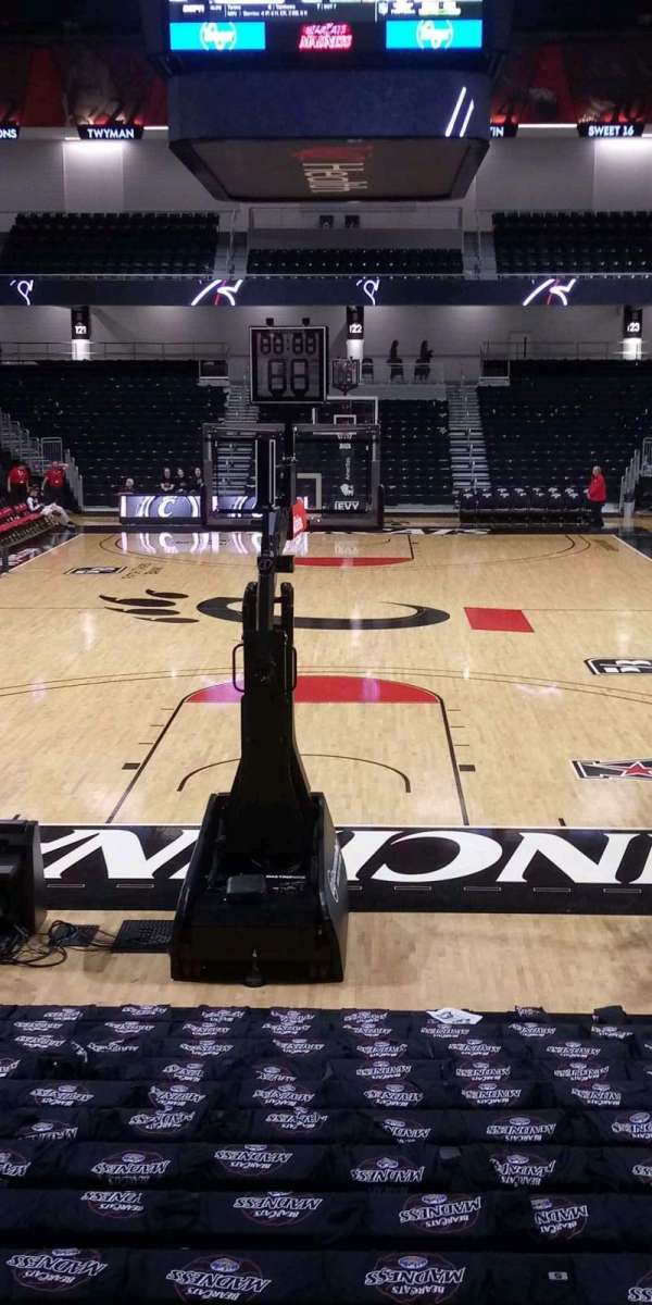 Fifth Third Arena, section: 110, row: 16, seat: 6