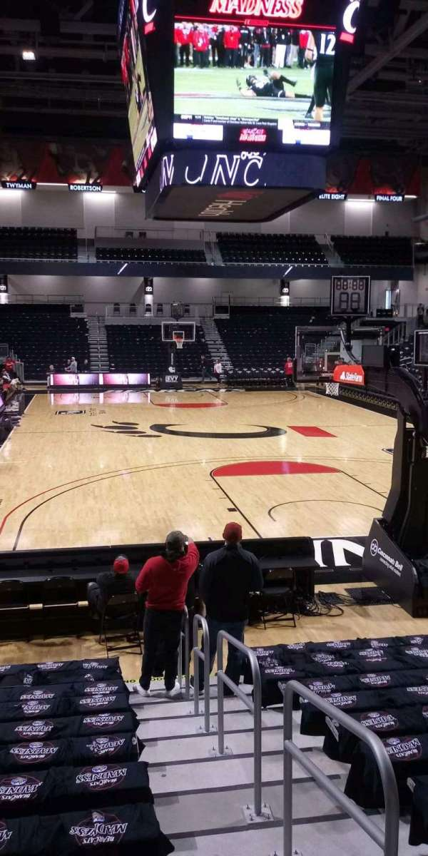 Fifth Third Arena, section: 111, row: 14, seat: 1