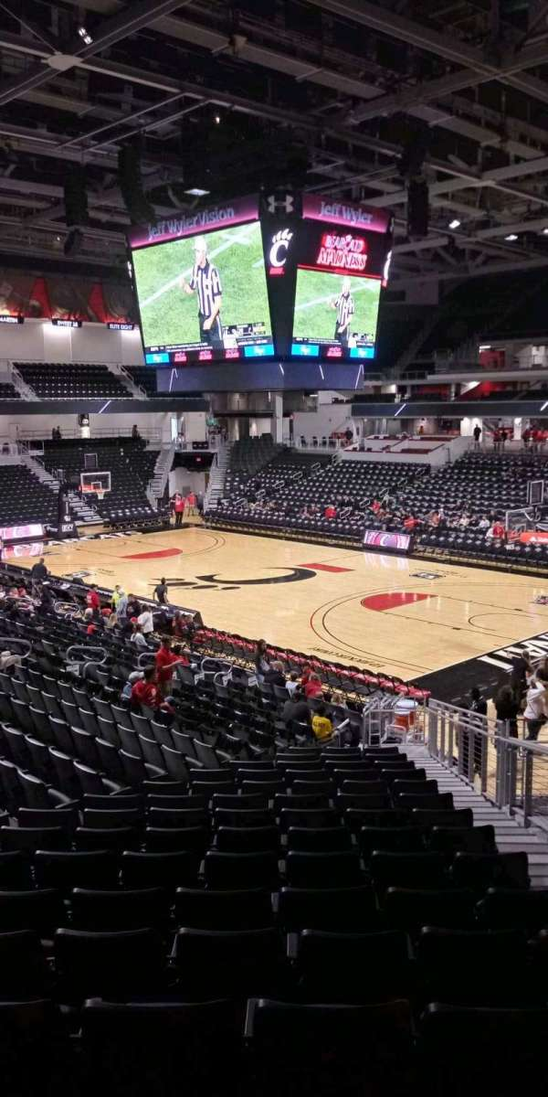 Fifth Third Arena, section: 113, row: 23, seat: 4