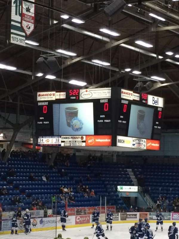 Sudbury Arena, section: 17, row: J, seat: 12