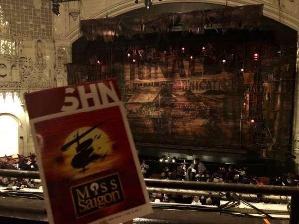 Orpheum Theatre (San Francisco), section: Loge, row: B, seat: 114