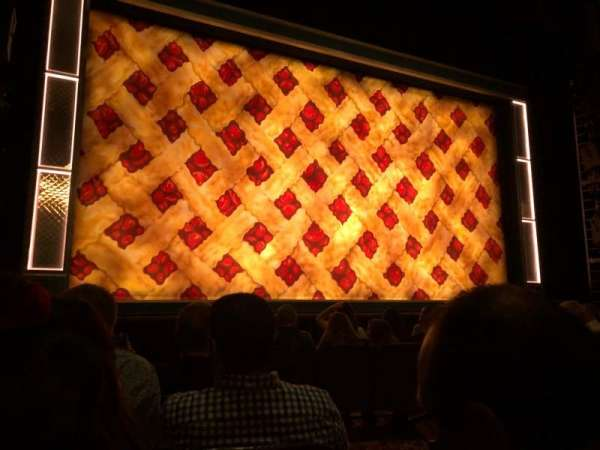 Golden Gate Theatre, section: Orch, row: D, seat: 3