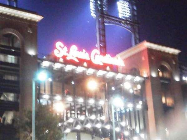 Busch Stadium, section: Gate 3