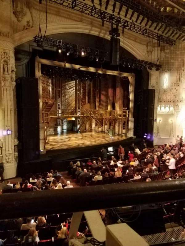Orpheum Theatre (San Francisco), section: Loge L, row: A, seat: 17