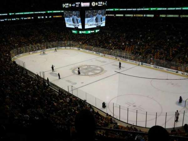 TD Garden, section: Bal 327, row: 3