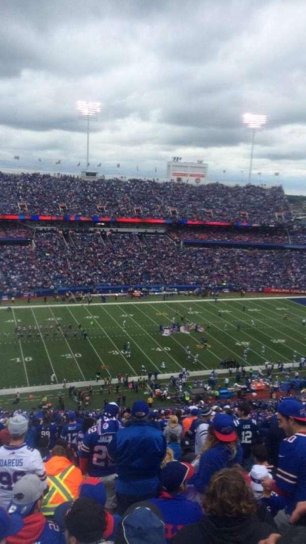 New Era Field, section: 314, row: 30, seat: 21