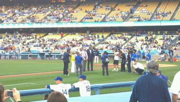 Dodger Stadium, section: 27FD, row: 8, seat: 2