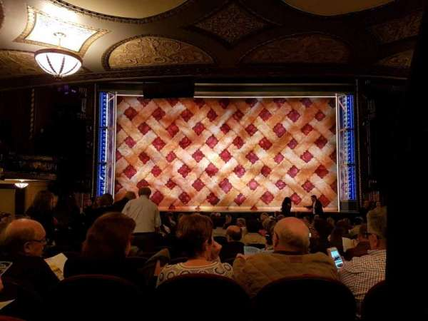 Brooks Atkinson Theatre, section: orchestra c, row: Q, seat: 104