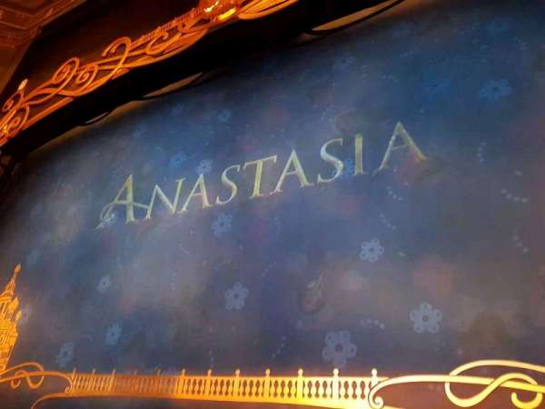 Broadhurst Theatre, section: Orchestra C, row: B, seat: 114