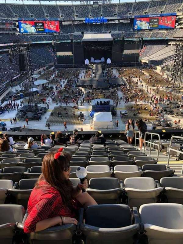 MetLife Stadium, section: 227A, row: 10, seat: 3