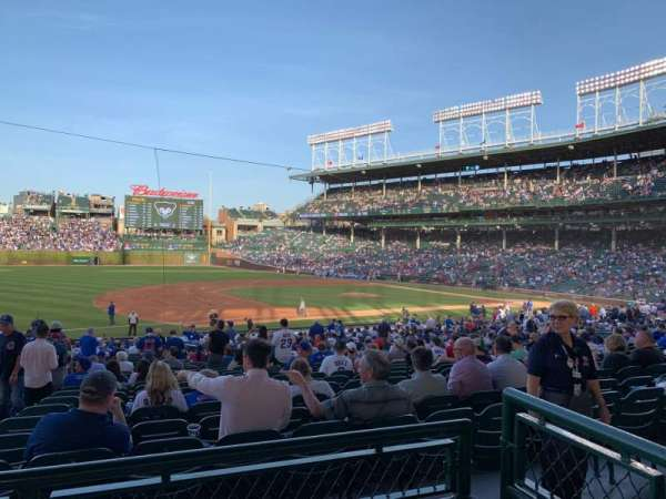 Wrigley Field, section: 209, row: 2, seat: 8