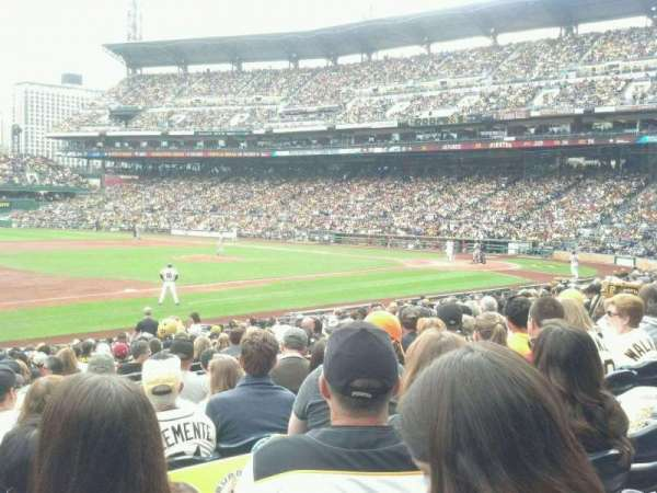 PNC Park, section: 125, row: H, seat: 16