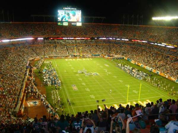 Hard Rock Stadium, section: 431, row: 28, seat: 18