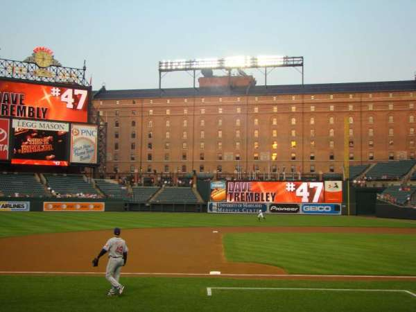 Oriole Park at Camden Yards, section: 54, row: DD, seat: 3