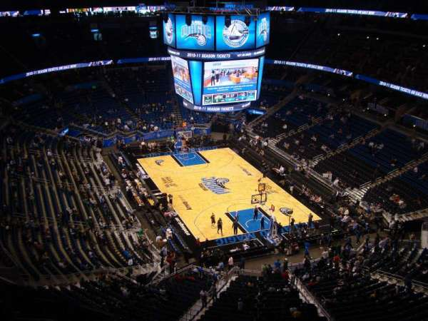 Amway Center, section: 203, row: 12, seat: 6