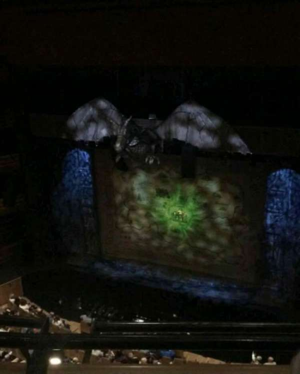 Donald Gordon Theatre at the Wales Millennium Centre, section: Upper Circle, row: B, seat: 49