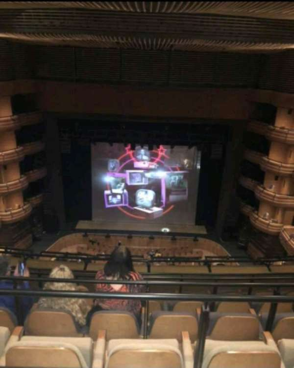 Donald Gordon Theatre at the Wales Millennium Centre, section: Upper Circle, row: F, seat: 28