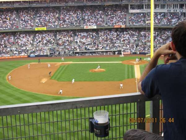 Yankee Stadium, section: 3S, row: 9SR, seat: 16