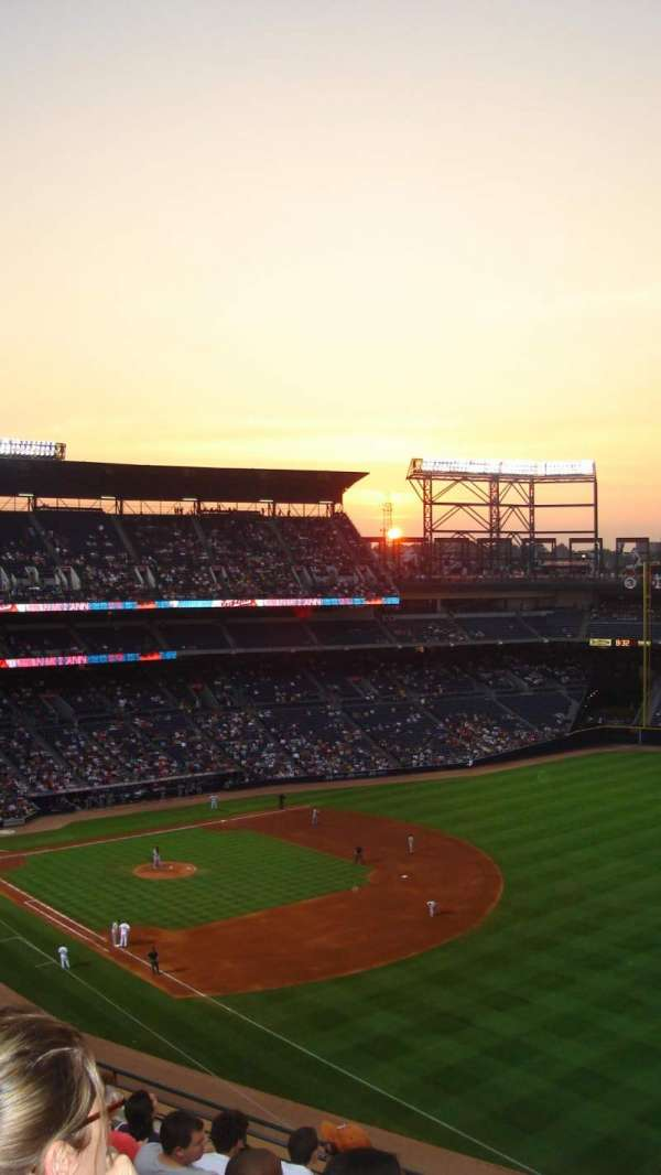 Turner Field, section: 430, row: 6, seat: 6