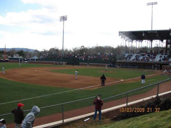 Davenport Field, section: GA Hill
