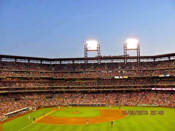Citizens Bank Park, section: 203, row: 6, seat: 7