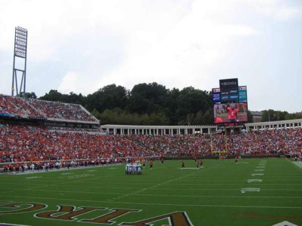Scott Stadium, section: 115, row: L, seat: 15