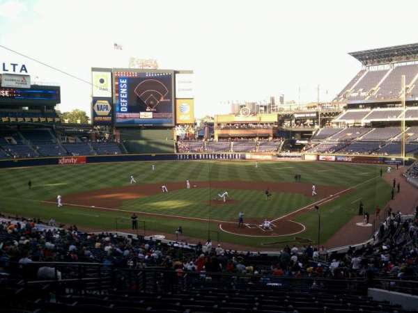Turner Field, section: 204, row: 13, seat: 7