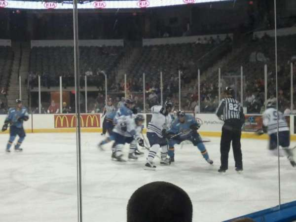 Sears Centre, section: 104, row: 2, seat: 10