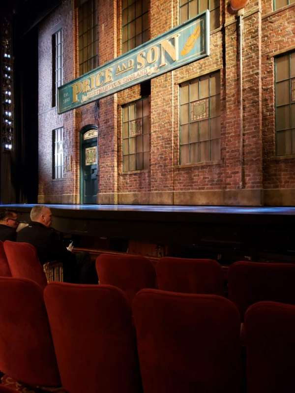 Al Hirschfeld Theatre, section: Orchestra R, row: D, seat: 10