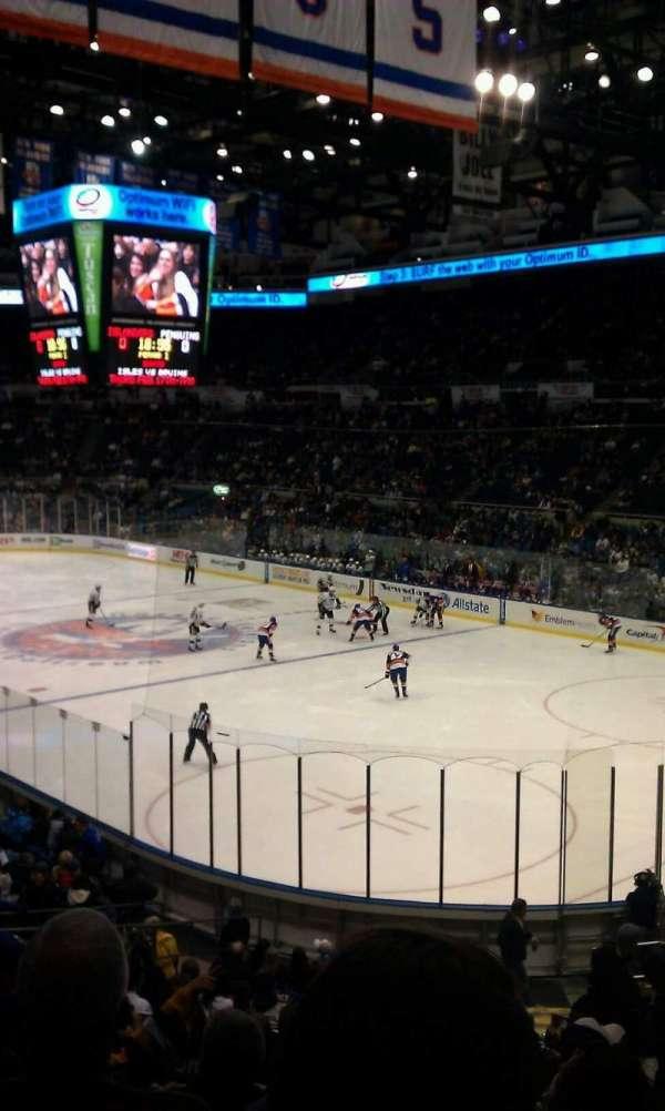Old Nassau Veterans Memorial Coliseum, section: 227, row: K, seat: 1