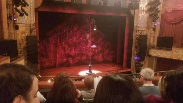 Longacre Theatre, section: Mezzanine, row: E, seat: 10