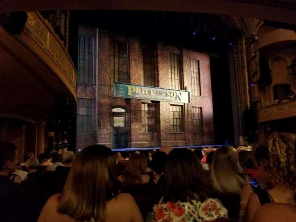 Al Hirschfeld Theatre, section: Left Orchestra, row: O, seat: 17