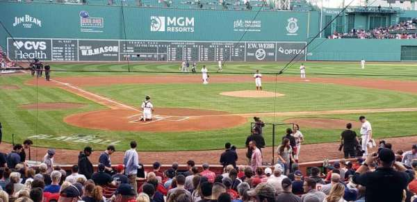 Fenway Park, section: Loge Box 126, row: GG , seat: 6