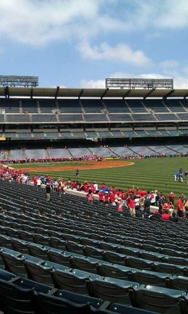 Angel Stadium, section: F133, row: y, seat: 26