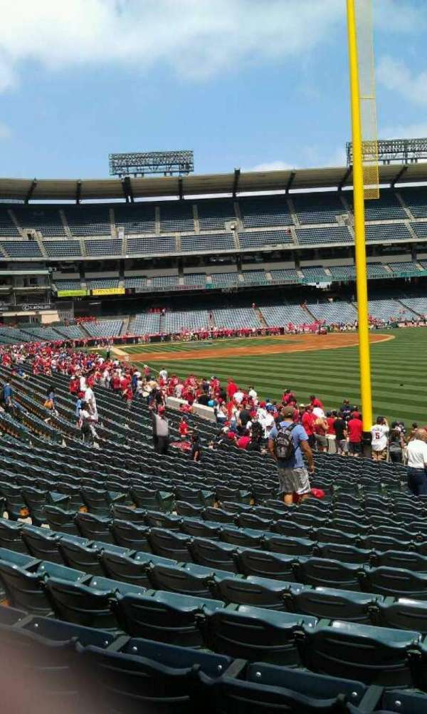 Angel Stadium, section: F134, row: y , seat: 12